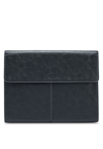 MANGO Man black Pebbled Laptop Case 690B0AC5EA7B11GS_1