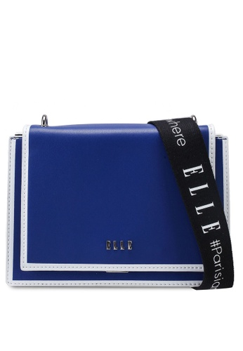 ELLE blue Kissha Crossbody Bag 080A7ACC51A5D9GS_1