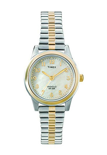 TIMEX gold Elevated Classic Watch for Women T2M828 TI205AC19CDGPH_1