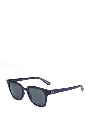 Ray-Ban black Ray-Ban RB4323F Sunglasses 3C947GL1F92594GS_1