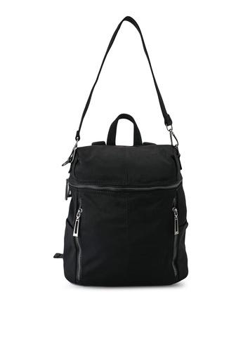 NUVEAU black Oxford Nylon Backpack 04719AC2F35F42GS_1