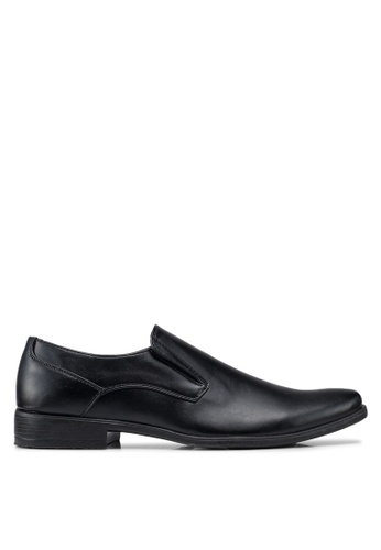 Bata black Busines Dress Shoes 474A2SHCC469F0GS_1