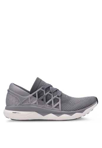 Reebok grey Supreme Floatride Nite Shoes RE691SH0RUJBMY_1