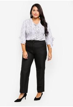 adc3386904b2 10% OFF Ex otico Plus Size Basic Trouser With Stretch S  52.90 NOW S  47.61  Sizes XXXL