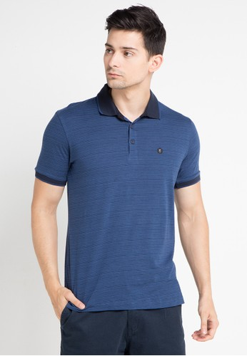 Cressida blue and multi Polo Geometric Logo CR235AA0WE7OID_1
