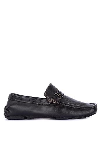 G&G black Formal Slip On Shoes 07E96SH927EF18GS_1