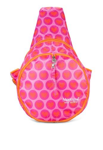 印花香蕉型後背包,esprit 價位 包, 後背包