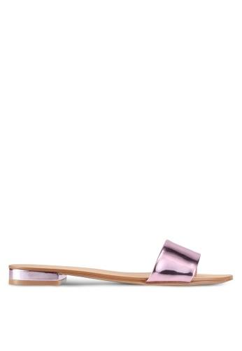 ALDO silver Etelin Flat Sandals 7D3EASHFD30F15GS_1
