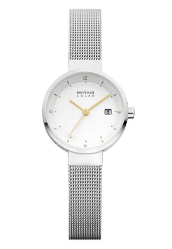 Bering silver Solar 14426-001 White 26 mm Women's Watch 902C1AC377C1A1GS_1