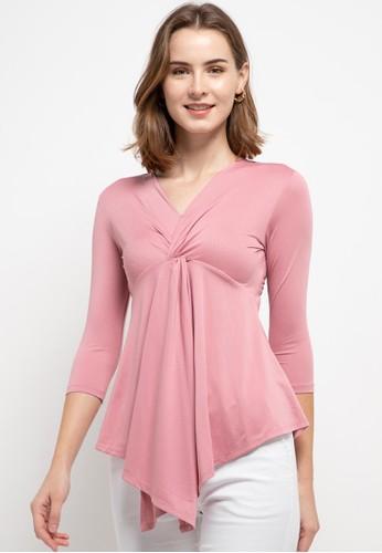 WHITEMODE pink Elida Blouses 5E810AACF5E654GS_1