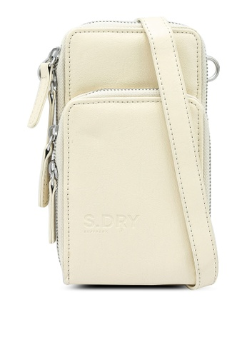 Superdry white Valley Cross Body Bag 1AC7AAC15FD376GS_1