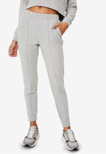 Cotton On Body grey All Day Studio Pants 9455EAA8D2FE57GS_1