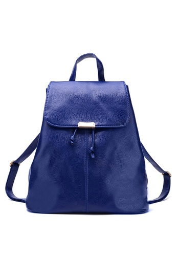 Vince blue Korean Designed Minimalist BackPack ( Blue ) VI456AC97AZIMY_1