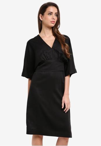 Selected Femme black Ada 2-in-1 Dress 260DDAA54F1F26GS_1
