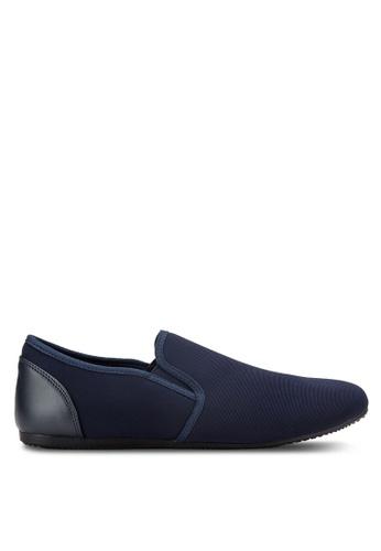 UniqTee blue Classic Textile Loafers UN097SH68RDRMY_1