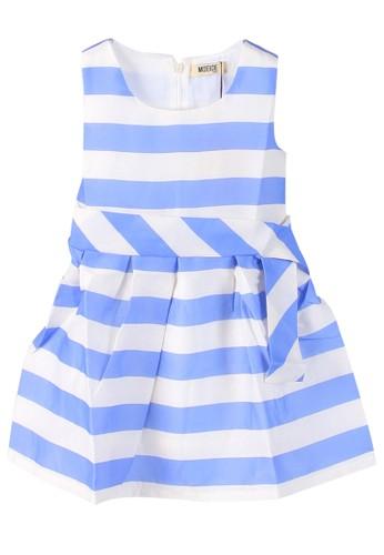 Moejoe blue MOEJOE Fun Stripes Dress 83E7EKABF3966CGS_1