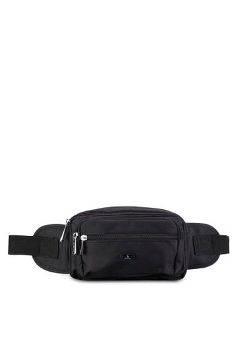 Swiss Polo black Swiss Polo Waist Bag SW912AC73DRMMY_1