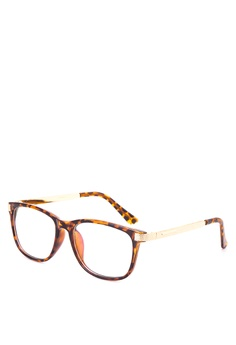 b3c6ebc074 Kimberley Eyewear brown and gold Collateral Beauty Glasses KI426AC32AUDPH 1