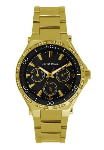 Christ Verra gold Christ Verra Women's Watches CV 75026L-12 BLK 3DDC5AC1B97108GS_1