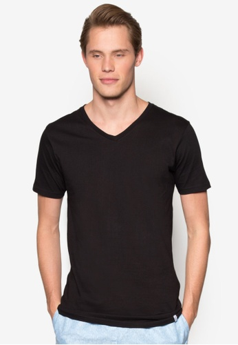 Factorie black The Legacy Vee Tee FA880AA34WFXMY_1