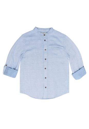 FOX Kids & Baby blue Kids Boy Long Sleeve Shirt F3D2AKA934517BGS_1