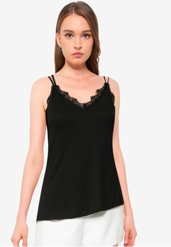 Vero Moda black Judy Sleeveless Top DA161AA06F7F36GS_1