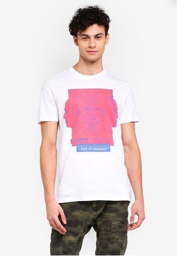 Cotton On 白色 休閒印花T恤 30F10AAF87D77CGS_1
