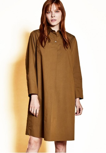 The K Story brown Three Button Shirts' One Piece 043F0AAA92FABBGS_1
