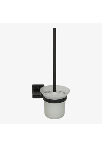 JVD JVD Lifestyle Argo Black Toilet Brush Holder D3D22HLBF6FCC6GS_1