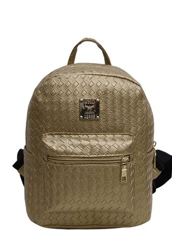 TCWK gold Ladies Backpack TC258AC10NKVMY_1