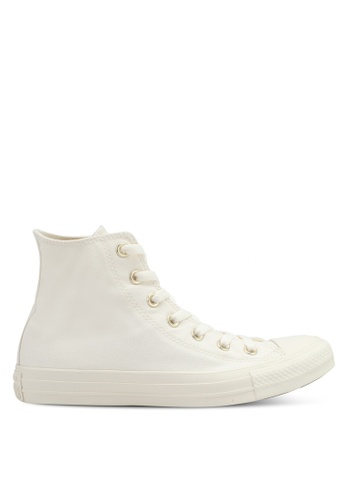 Converse gold and beige Chuck Taylor All Star Sneakers CO302SH0SXV1MY_1