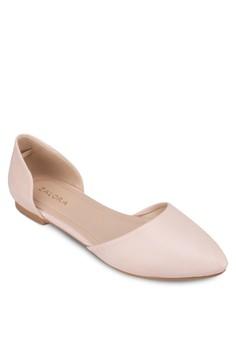 Pointed D'Orsay Ballerinas