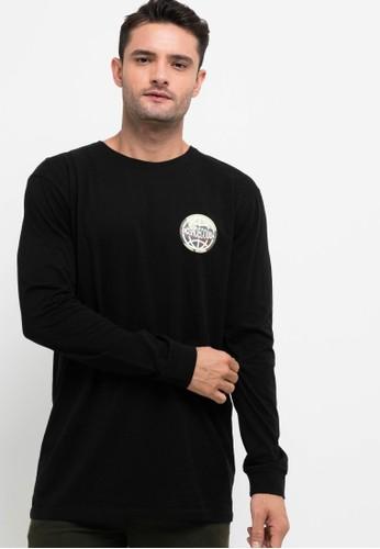 DC black World WShirte Long Sleeve Shirt 813E2AABB35D92GS_1
