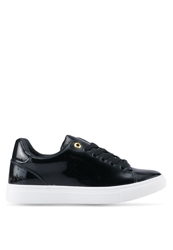 addicts anonymous black Grace Patent Classic Sneakers AD479SH0SR5PMY_1