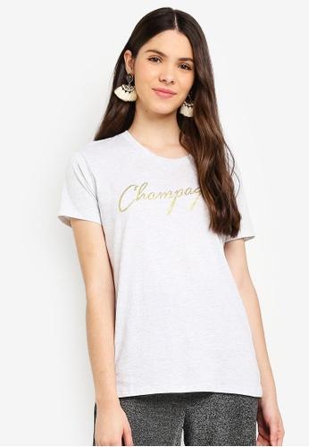 Cotton On silver Tbar Fox Graphic T-Shirt 5C03CAA64920C4GS_1