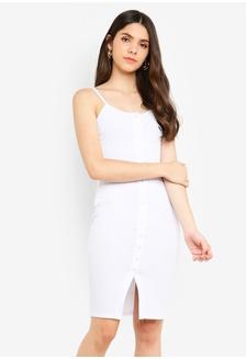 700582996f0e Sunnydaysweety New Mesh Stitching Suit One Piece Dress Php 3640.00. Button  Rib Cami Mini Dress 7FC92AA126524EGS 1