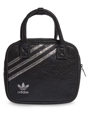 ADIDAS black sparkle top handle bag 5A5CAAC1FB8668GS_1