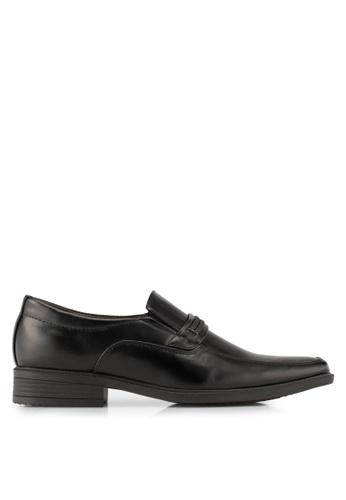 Albertini black Slip On Dress Shoes AL779SH0SAWMMY_1