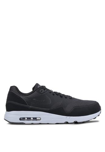 Nike black and grey Men's Nike Air Max 1 Ultra 2.0 Essential Shoes NI126SH0IVJBPH_1