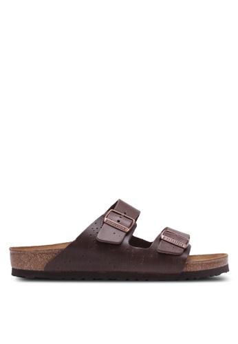 Birkenstock brown Arizona NL Sandals BI090SH0RTJ7MY_1