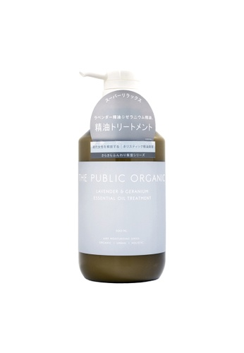 THE PUBLIC ORGANIC THE PUBLIC ORGANIC Super Relax Lavender & Geranium Essential Oil Treatment 500ml (TPO-005) BF88ABE360A710GS_1