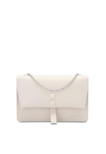Swiss Polo white Ladies Chain Sling Bag CEC94AC4A0429EGS_1