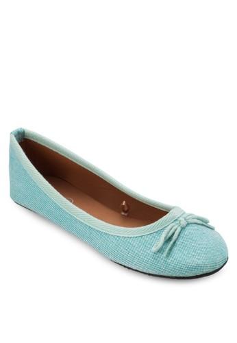 蛇紋蝴蝶結娃娃esprit 澳門鞋, 女鞋, 鞋