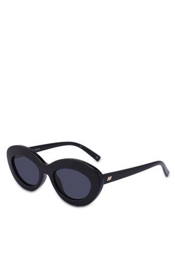 Le Specs black Fluxus 1802156 Sunglasses 4C567GL7463F53GS_1