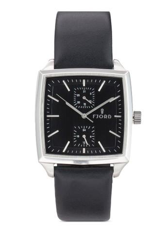 Finn esprit outlet 台灣副錶盤方框手錶, 錶類, 飾品配件