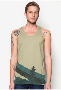 Nature Stripe Tank Top