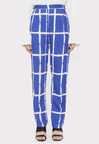 HAVA blue Hava Aletrisa Pants 9025CAAC4BA5DEGS_1