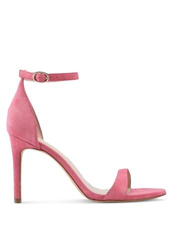 Mango pink Ankle-Cuff Heels DE859SHF2E905FGS_1