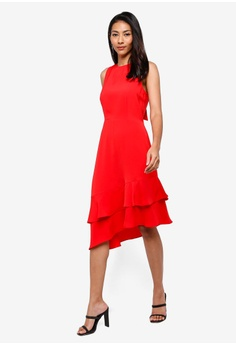 968f71a812eec 50% OFF WAREHOUSE Int Tie Back Ruffle Dress S  129.00 NOW S  64.90  Available in several sizes