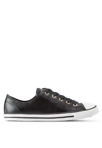 Converse black Chuck Taylor All Star Dainty Sneakers CO302SH53YJUMY_1
